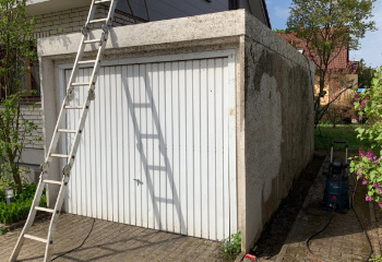 Garage vor der Modernisierung