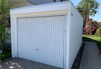 Garage nach der Modernisierung