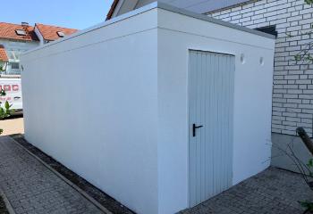 Abgeschlossene Fassadensanierung